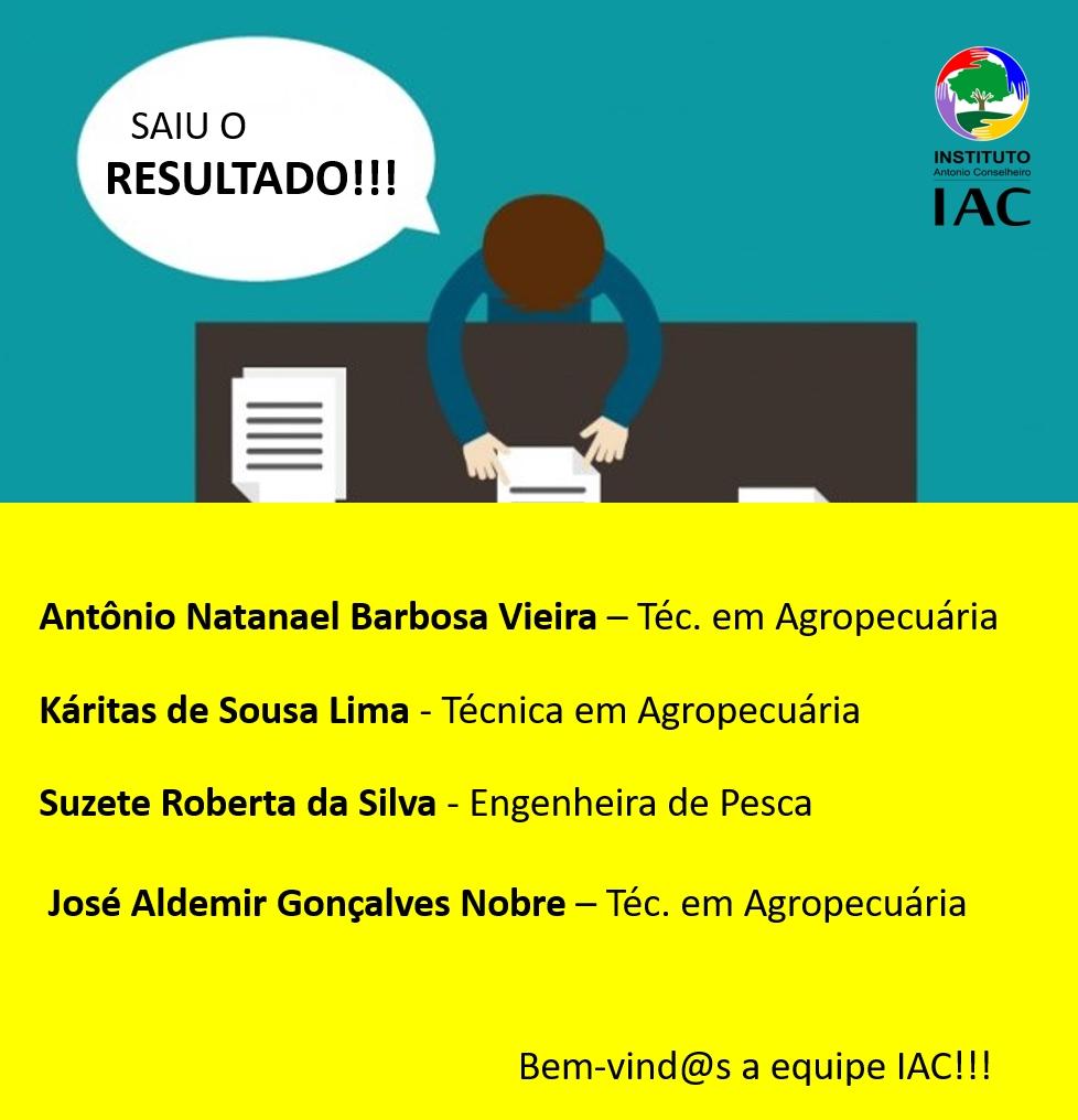[SELEÇÃO] IAC divulga resultado dos/as pré-selecionados/as para as vagas de Técnic@ de Campo